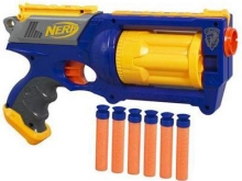 Nerf Gun and Darts